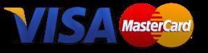 оплата банковской картой Visa, MasterCard
